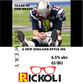 Label tears of tom brady